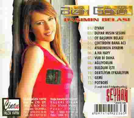 Başımın Belası (2008) albüm kapak resmi