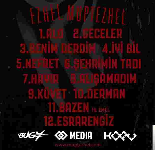 Müptezhel (2017) albüm kapak resmi