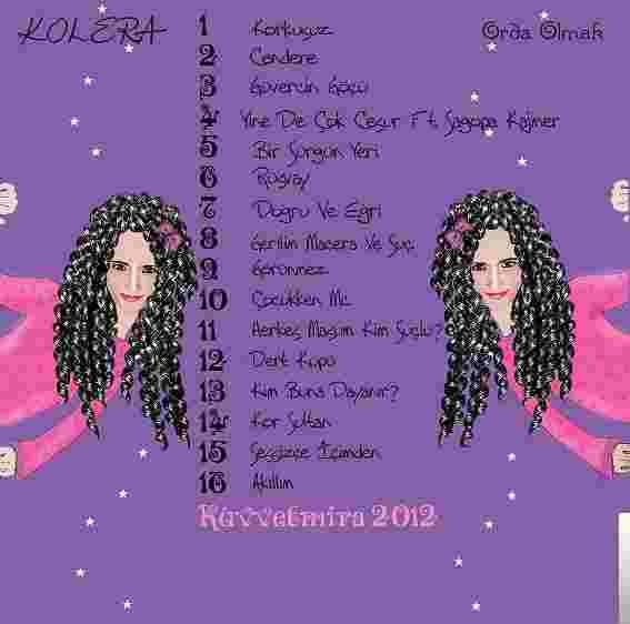 Orda Olmak (2012) albüm kapak resmi