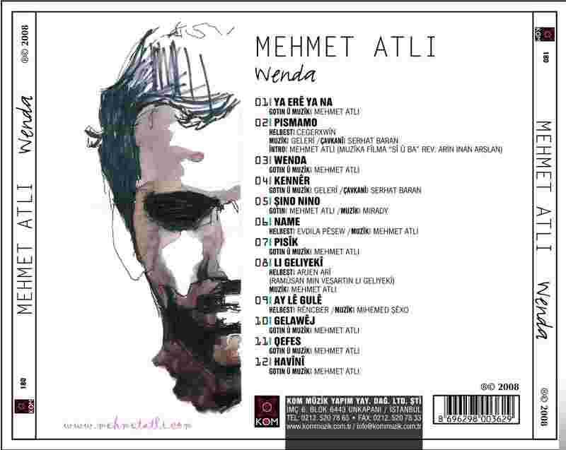 Wenda (2008) albüm kapak resmi
