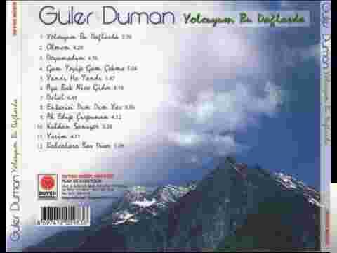 Yolcuyum Bu Dağlarda (2000) albüm kapak resmi