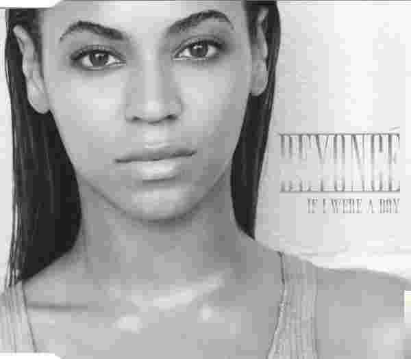 If I Were A Boy (2008) albüm kapak resmi