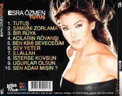 Tutuş (2001) albüm kapak resmi