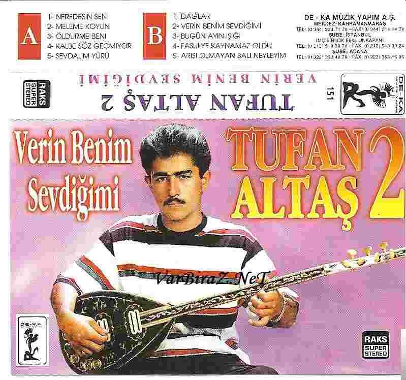 Verin Benim Sevdiğimi (1995) albüm kapak resmi