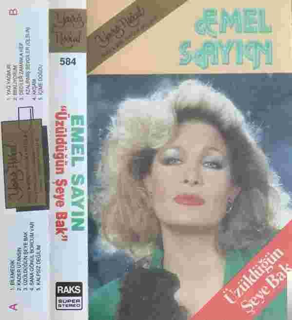 Üzüldüğün Şeye Bak (1990) albüm kapak resmi