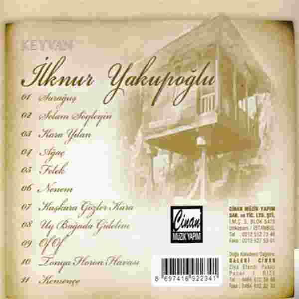 Keyvan (2008) albüm kapak resmi