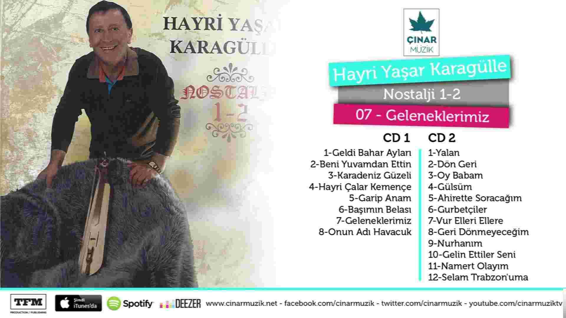 Seçme Karadeniz Şarkıları albüm kapak resmi
