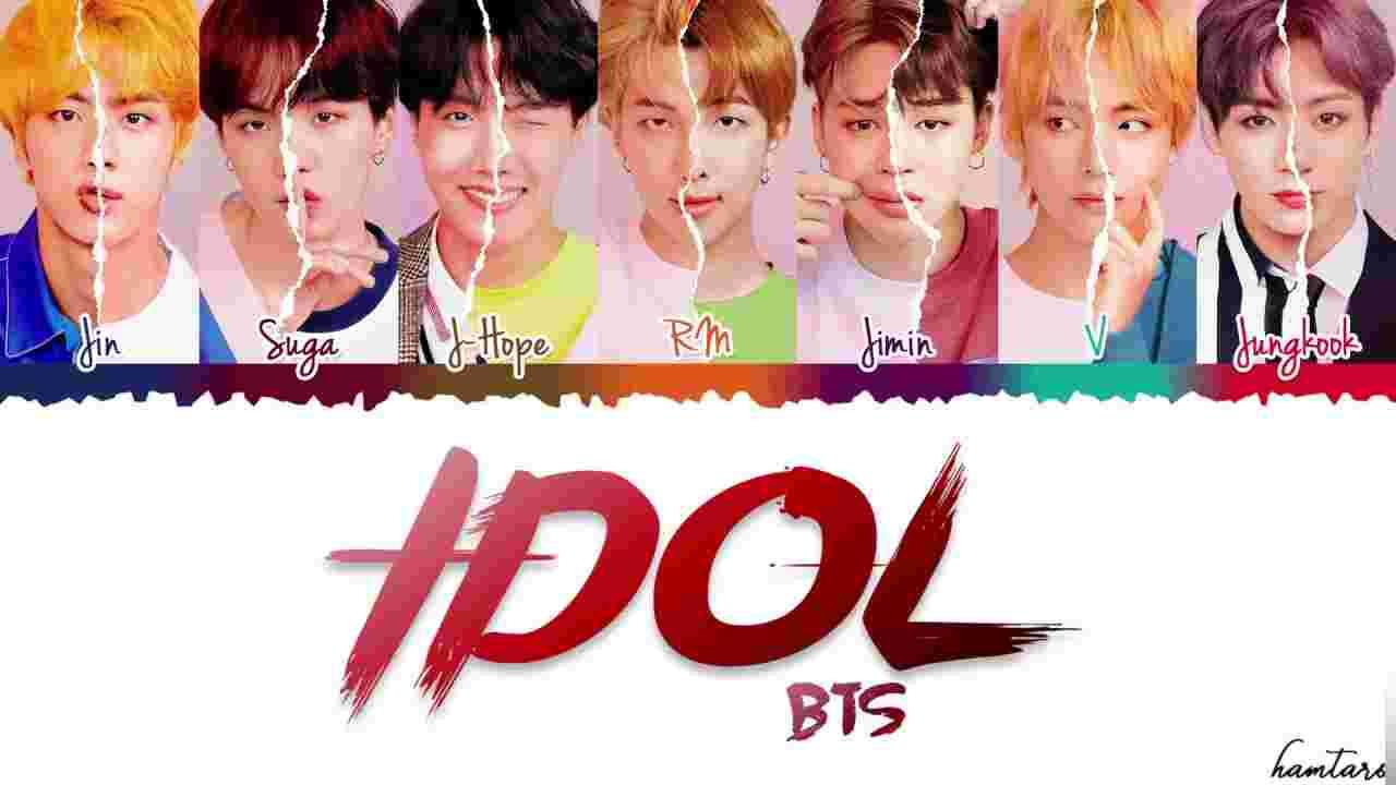 IDOL (2018) albüm kapak resmi