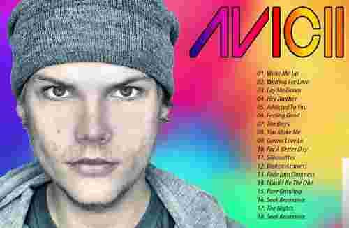 Dj Avicii Best albüm kapak resmi