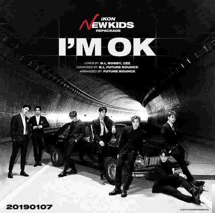 I'm Ok (2019) albüm kapak resmi