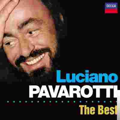 Luciano Pavarotti The Best albüm kapak resmi