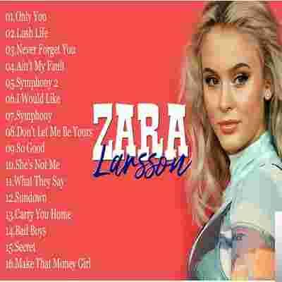 Zara Larsson Best Song albüm kapak resmi