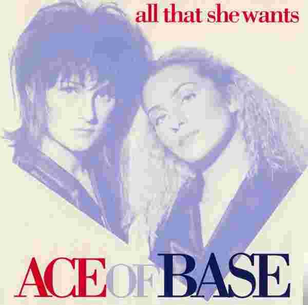 All That She Wants (1992) albüm kapak resmi