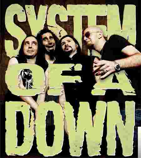 System of a Down The Best albüm kapak resmi