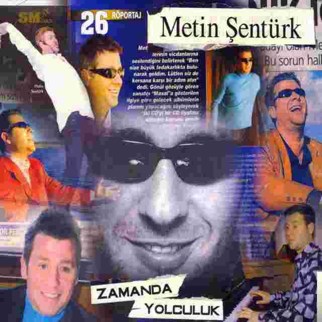 Metin Şentürkle Zamanda Yolculuk (2008) albüm kapak resmi