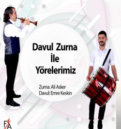 Davul Zurna İle Yörelerimiz (2019) albüm kapak resmi