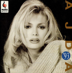 Ajda 93 (1993) albüm kapak resmi