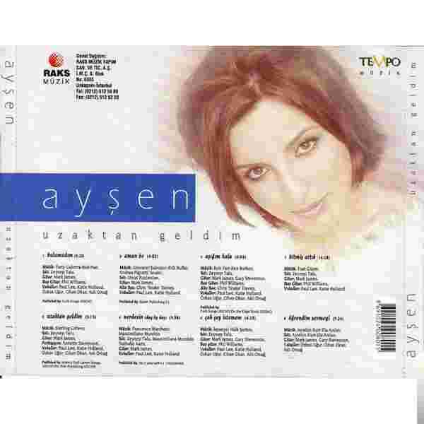 Uzaktan Geldim (1997) albüm kapak resmi