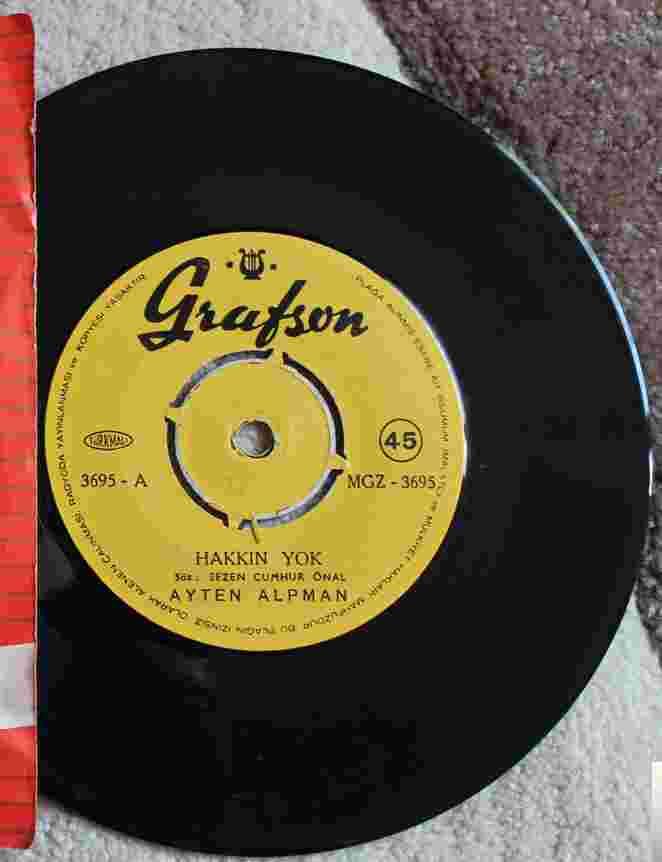 Hakkın Yok/Beni Unutma (1964) albüm kapak resmi