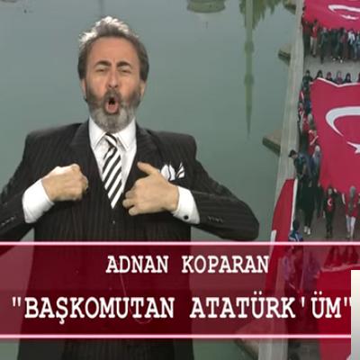 Başkomutan Atatürk'üm (2019) albüm kapak resmi