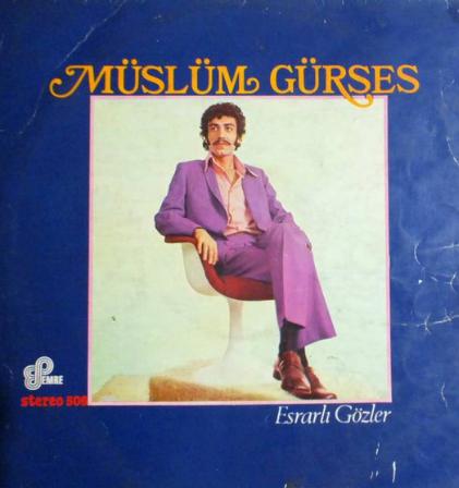 Esrarlı Gözler (1980) albüm kapak resmi