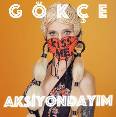 Aksiyondayım (2020) albüm kapak resmi
