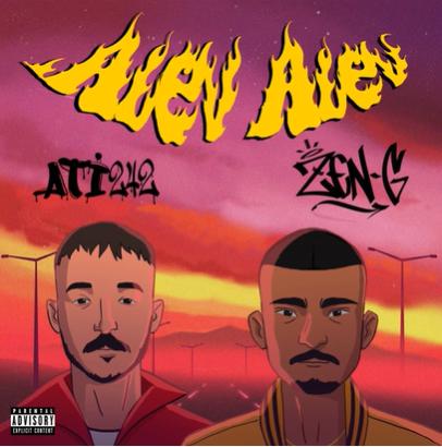 Alev Alev (2020) albüm kapak resmi