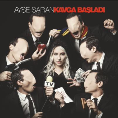 Kavga Başladı (2014) albüm kapak resmi