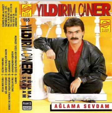 Ağlama Sevdam (1990) albüm kapak resmi
