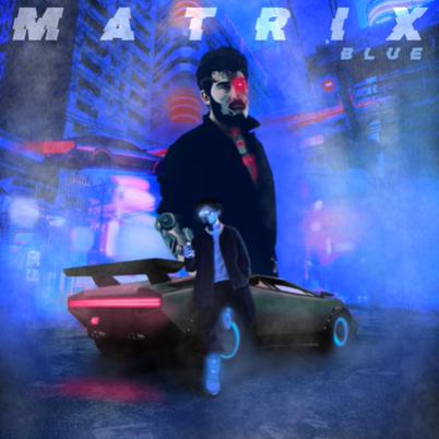 Matrix Blue (2020) albüm kapak resmi