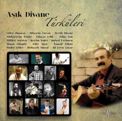 Aşık Divane Türküleri (2020) albüm kapak resmi