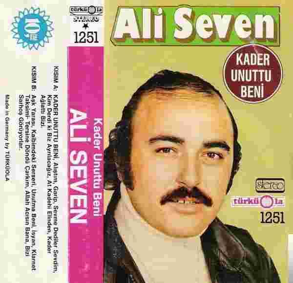 Kader Unuttu Beni (1988) albüm kapak resmi