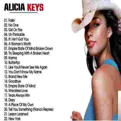 Alicia Keys The Best Song albüm kapak resmi