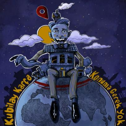 Konuma Gerek Yok (2020) albüm kapak resmi
