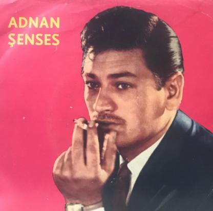 Adnan Şenses Seçmeler albüm kapak resmi