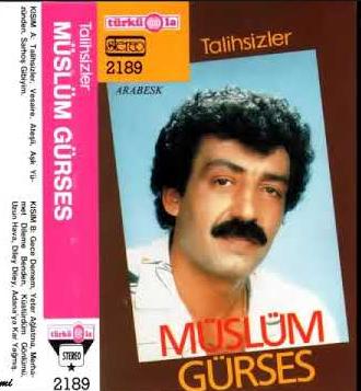 Müslüm Gürses Talihsizler (1989)