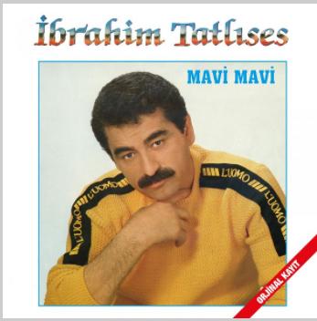 Mavi Mavi (1985) albüm kapak resmi