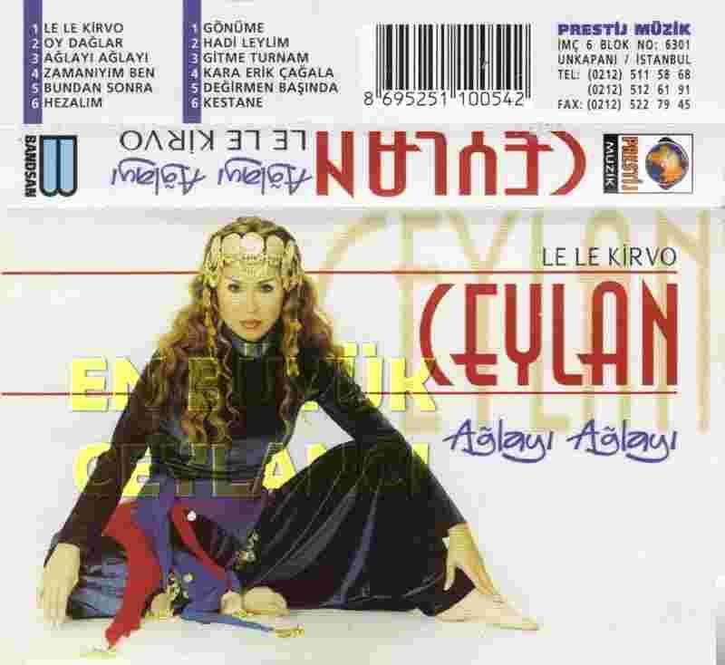 Ağlayı Ağlayı (1998) albüm kapak resmi