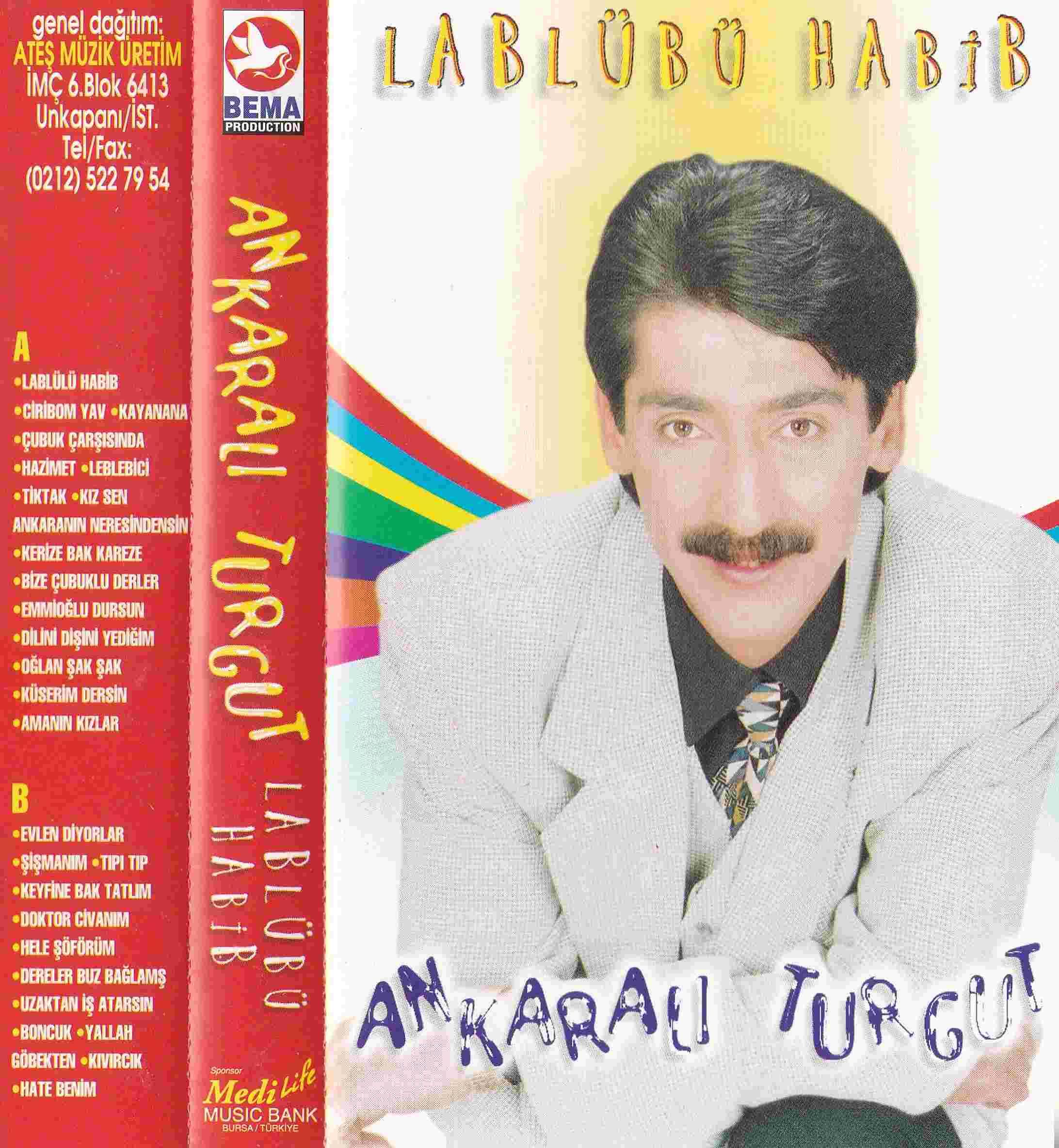 Lablübü Habib (1994) albüm kapak resmi