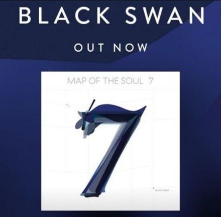 Black Swan (2020) albüm kapak resmi