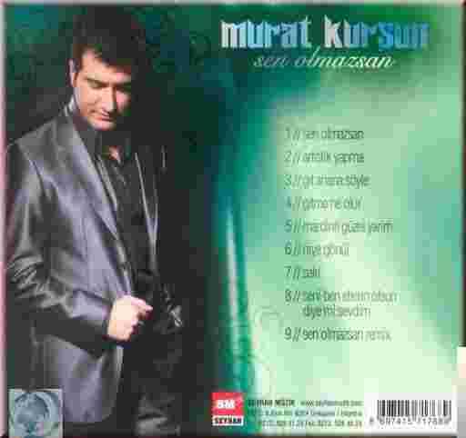 Sen Olmazsan (2008) albüm kapak resmi
