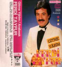 Gitme Yarim (1984) albüm kapak resmi