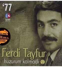 Huzurum Kalmadı (1977) albüm kapak resmi